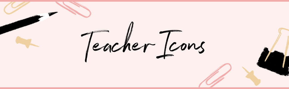 Teacher Icons