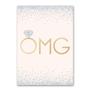 OMG greeting card Product