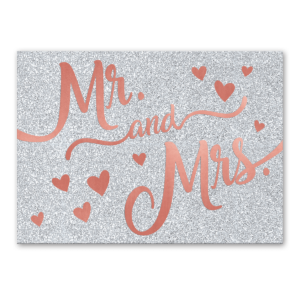 Mr. & Mrs. greeting card Product