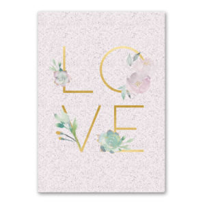 LOVE greeting card Product