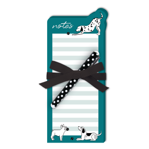 Dog Notes Die-Cut Notepad Product