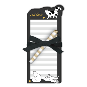 Cat Notes Die-Cut Notepad Product