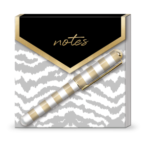 Tabby Stripes Matchbook Notepad Product