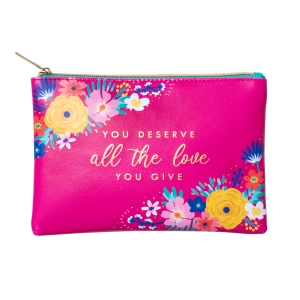 Happy Floral Love Glam Bag Product